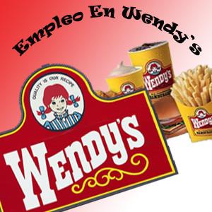 empleo en Wendys